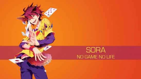 sora no game no life uhd 4k wallpaper