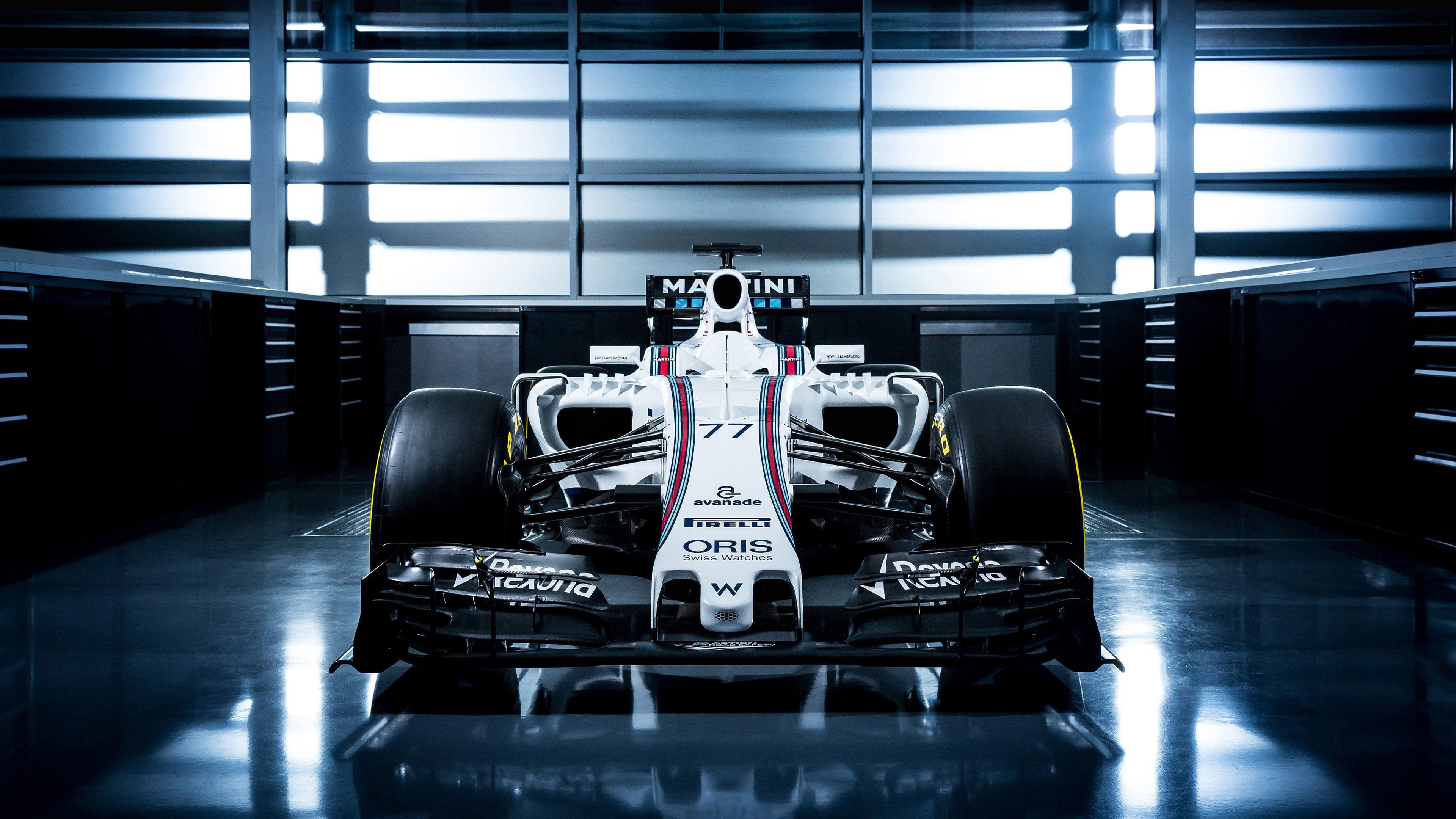 williams fw38 f1 fornt uhd 4k wallpaper