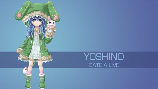 yoshino date a live uhd 4k wallpaper
