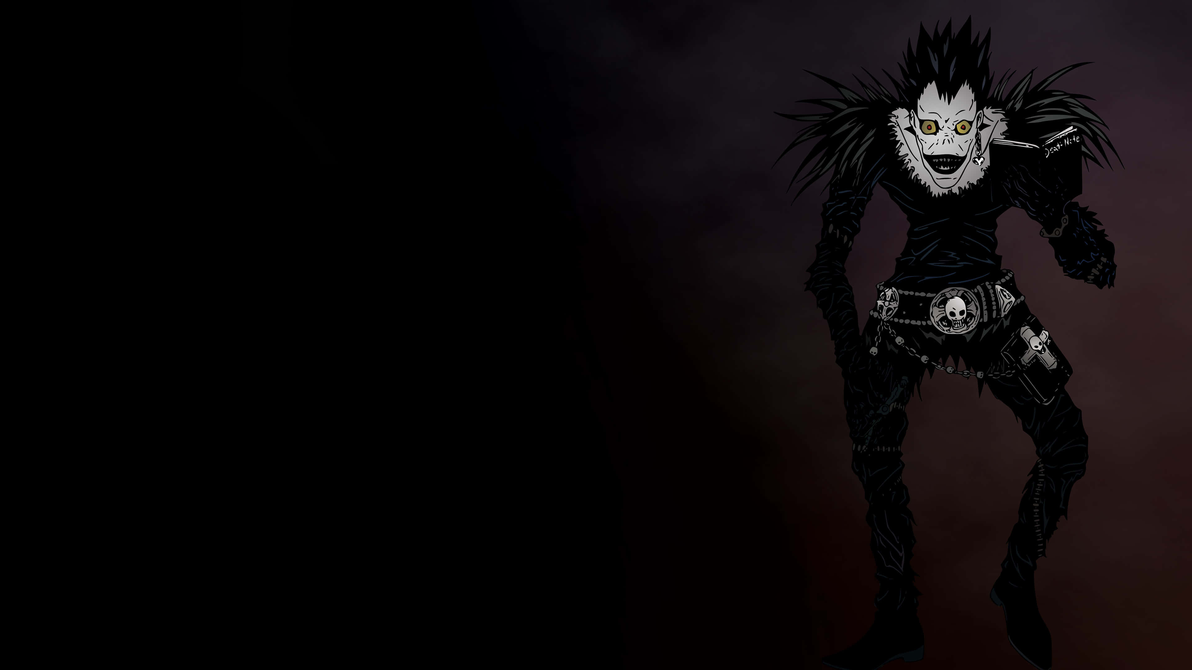 death note ryuk uhd 4k wallpaper