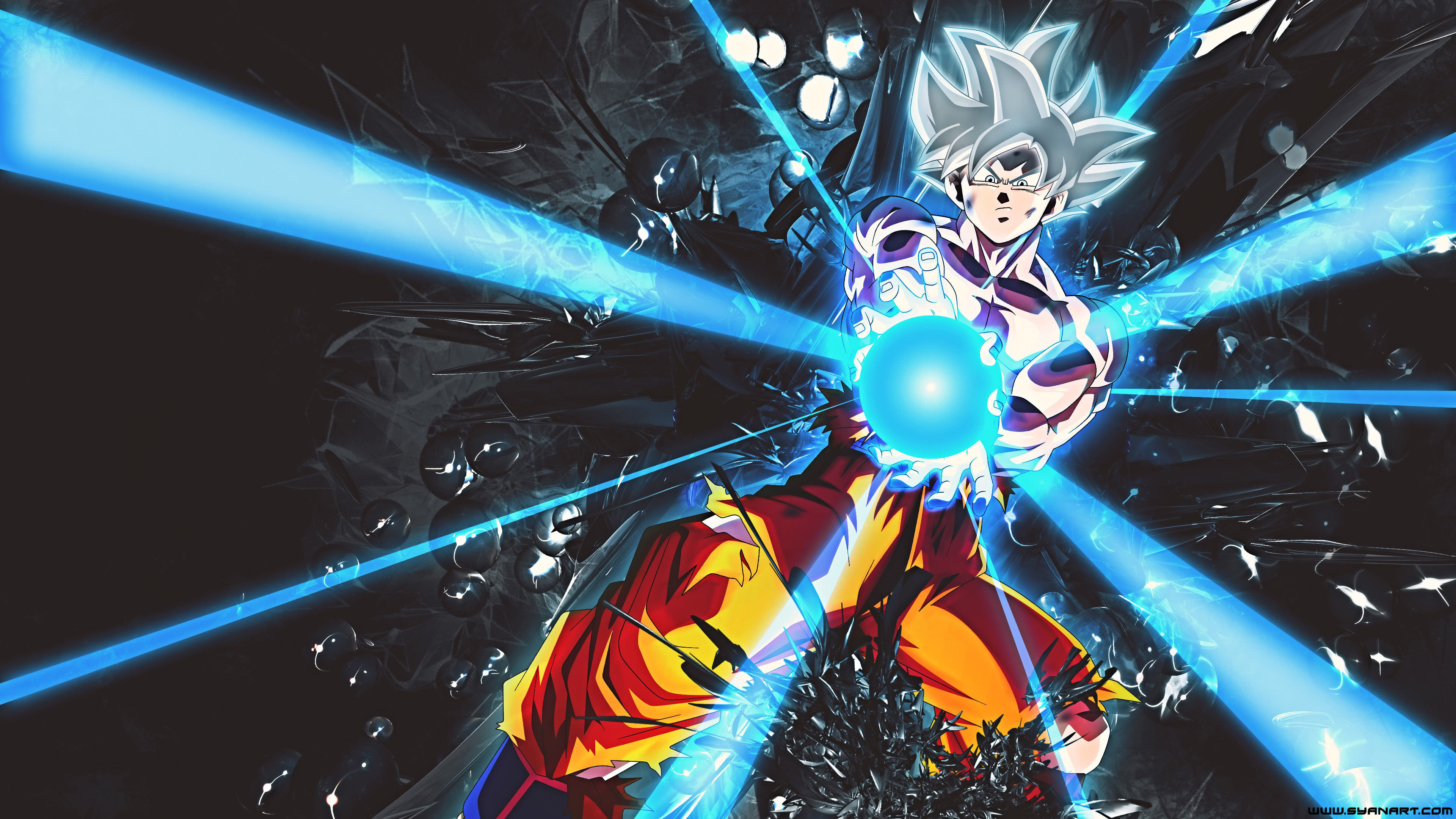 Goku Ultra Instinct Wallpaper 1080p: Dragon Ball Super Goku Ultra Instinct UHD 4K Wallpaper