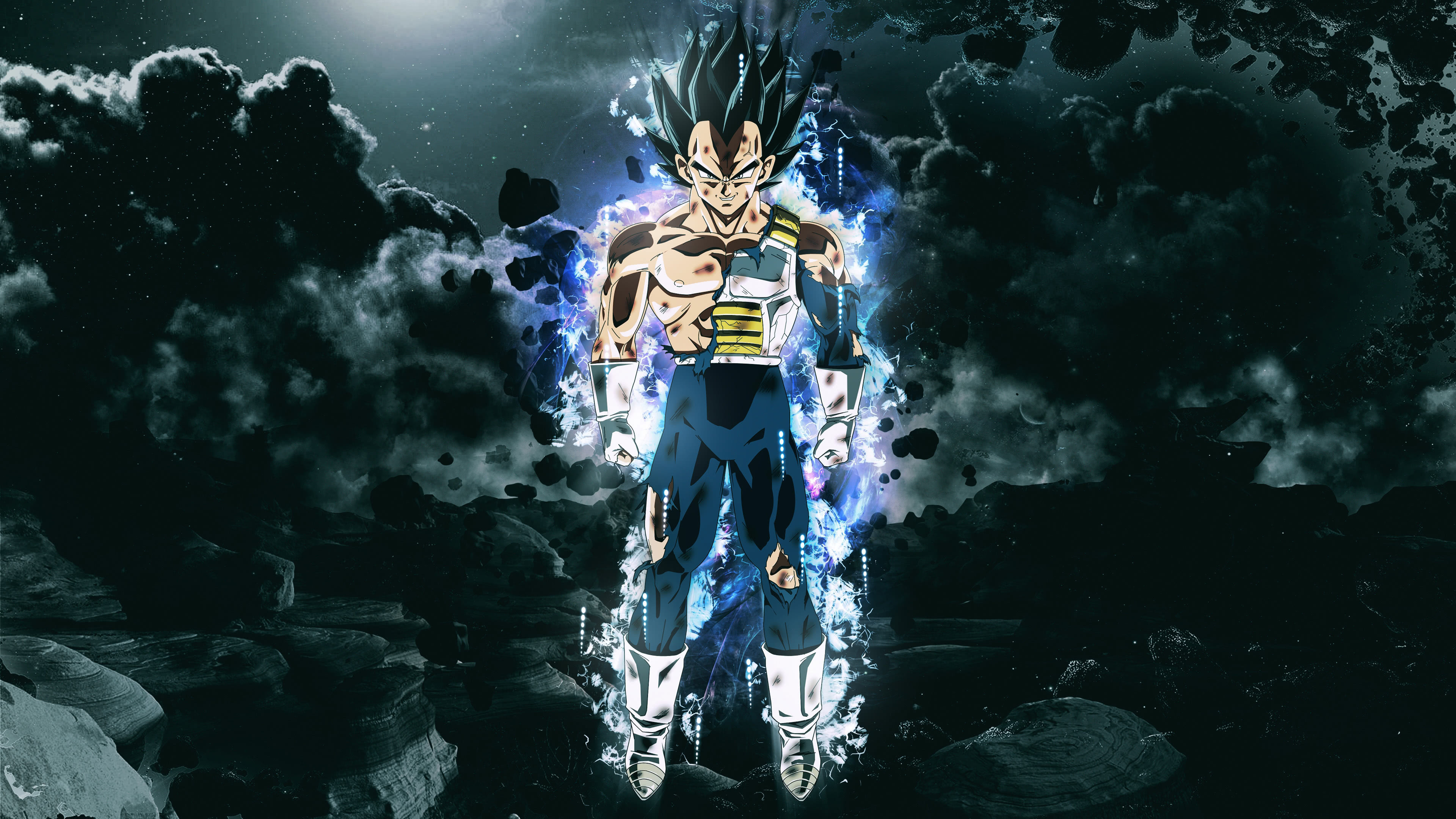 Dragon Ball Super Vegeta Uhd 4k Wallpaper Pixelz