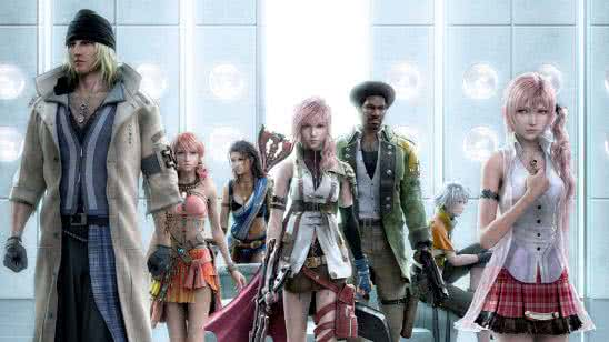 final fantasy xiii 8 characters uhd 4k wallpaper