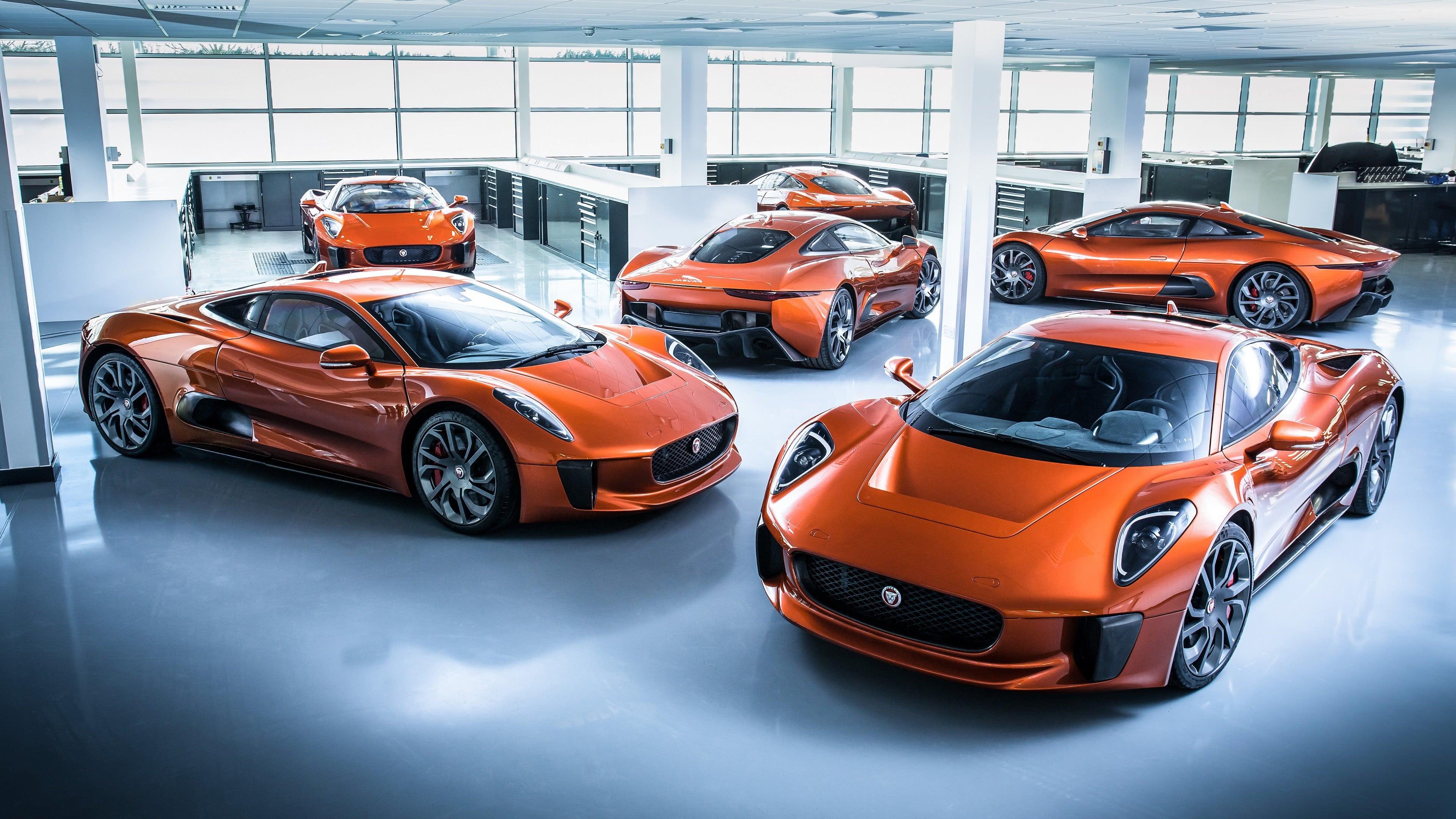 jaguar james bond villain car uhd 4k wallpaper
