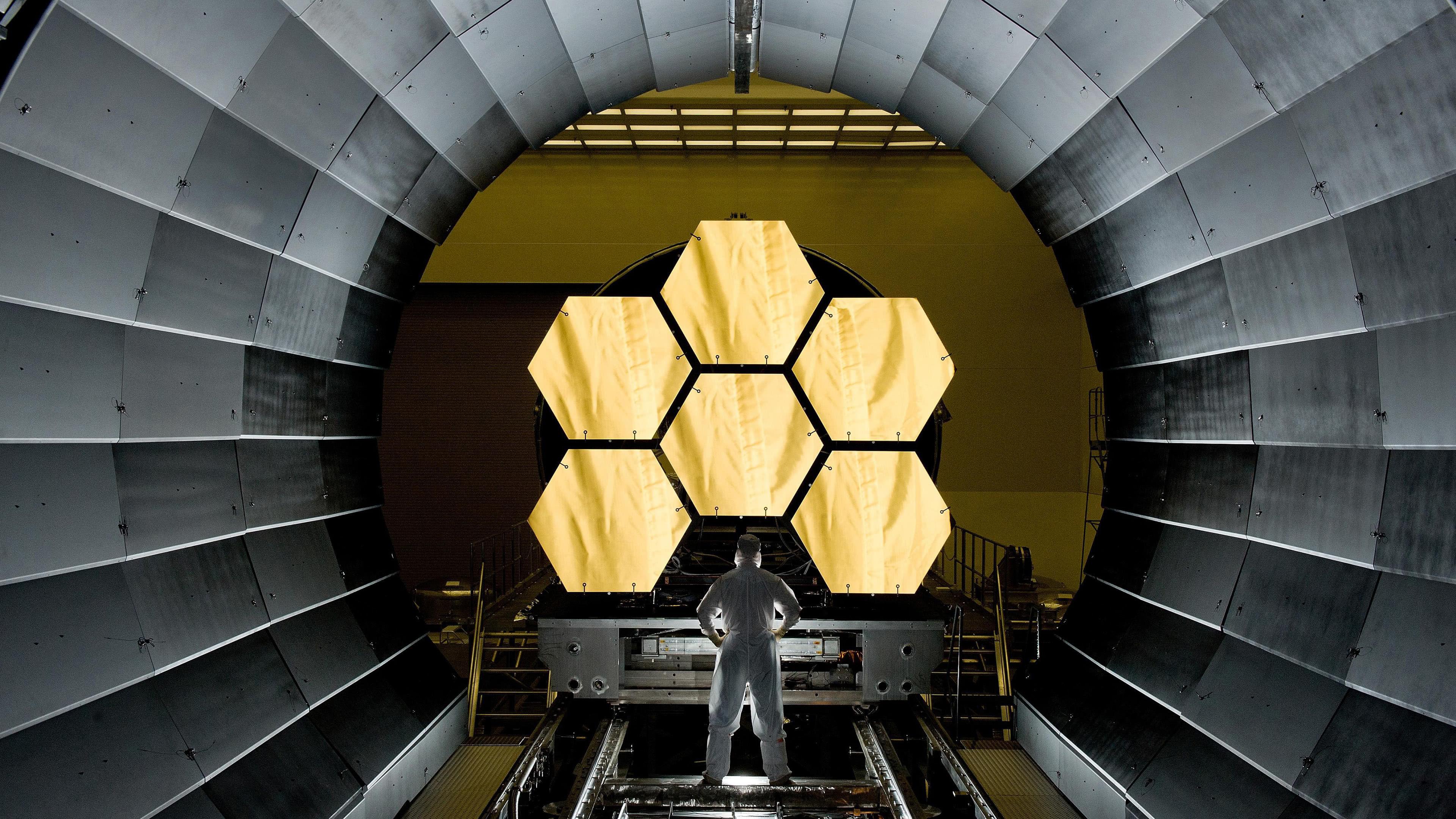 james webb space telescope uhd 4k wallpaper