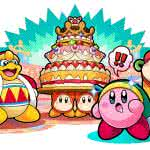 kirby battle royale cake uhd 4k wallpaper