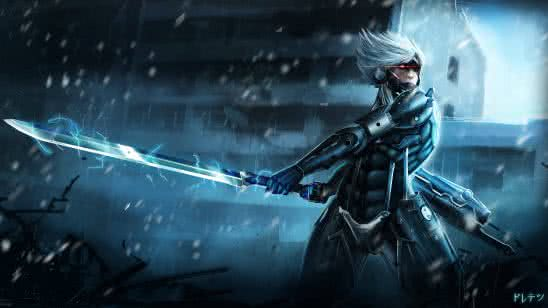 metal gear rising revengeance raiden uhd 4k wallpaper