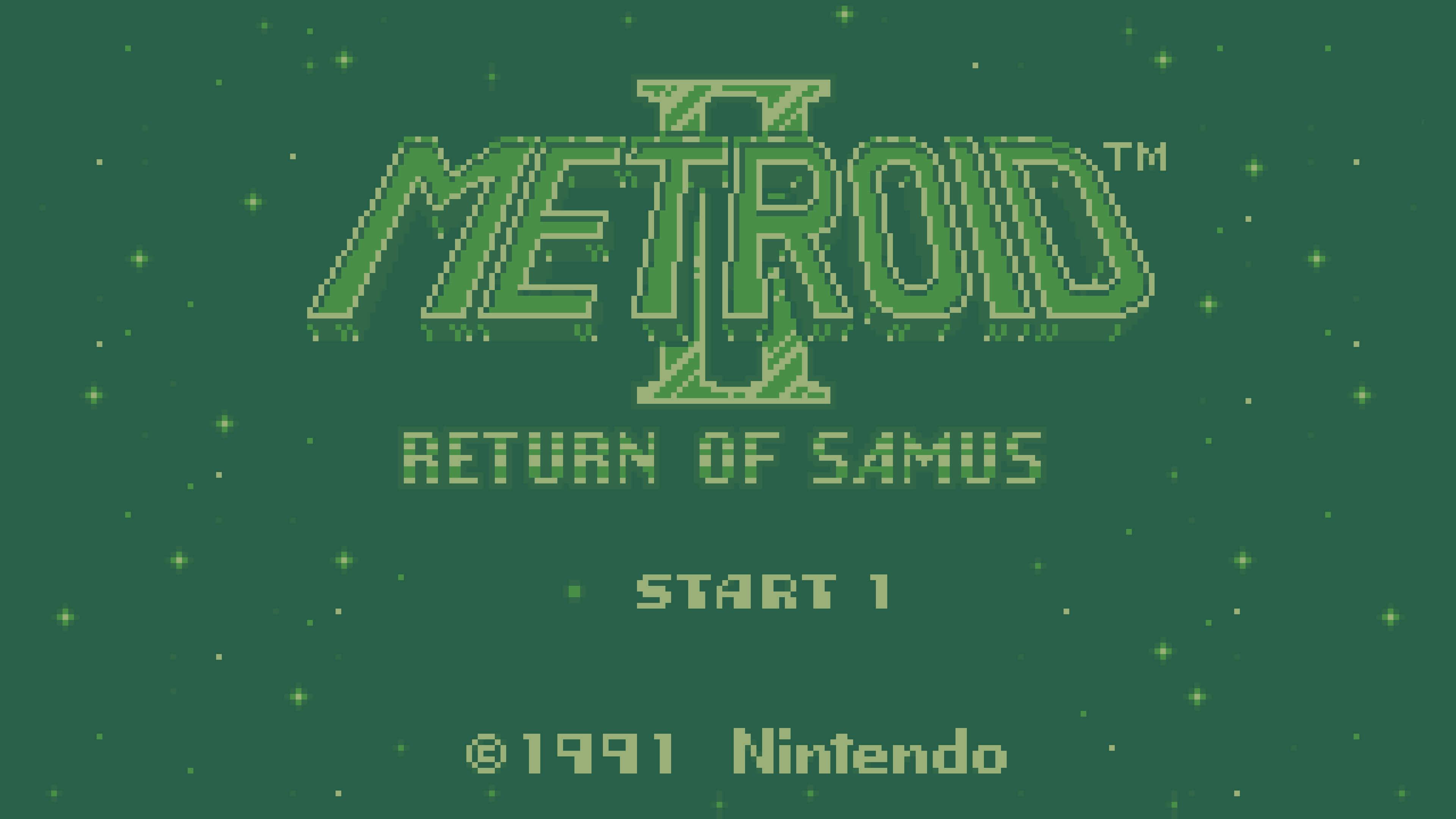 metroid 2 return of samus game boy screenshot uhd 4k wallpaper