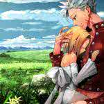 "<span itemprop=""name"">Nanatsu No Taizai Seven Deadly Sins Elaine And Ban</span>"