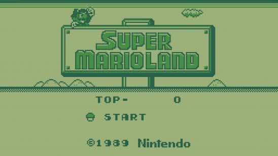 super mario land game boy screenshot uhd 4k wallpaper