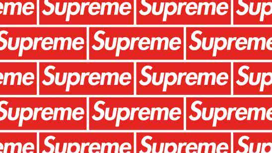 supreme logo full uhd 4k wallpaper