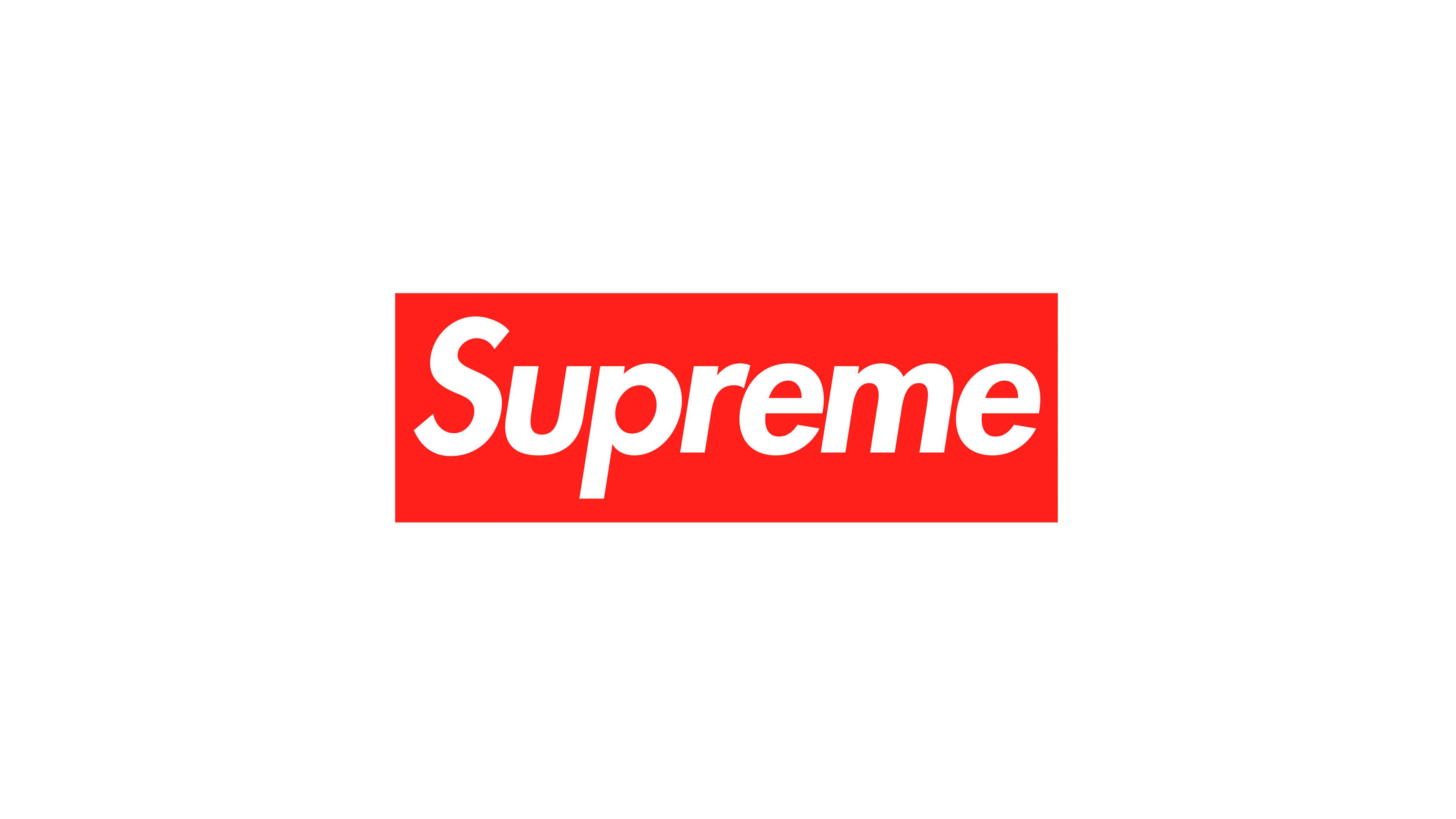 Supreme Logo Uhd 4k Wallpaper Pixelz