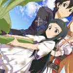sword art online hollow realization asuna kirito and yui uhd 4k wallpaper