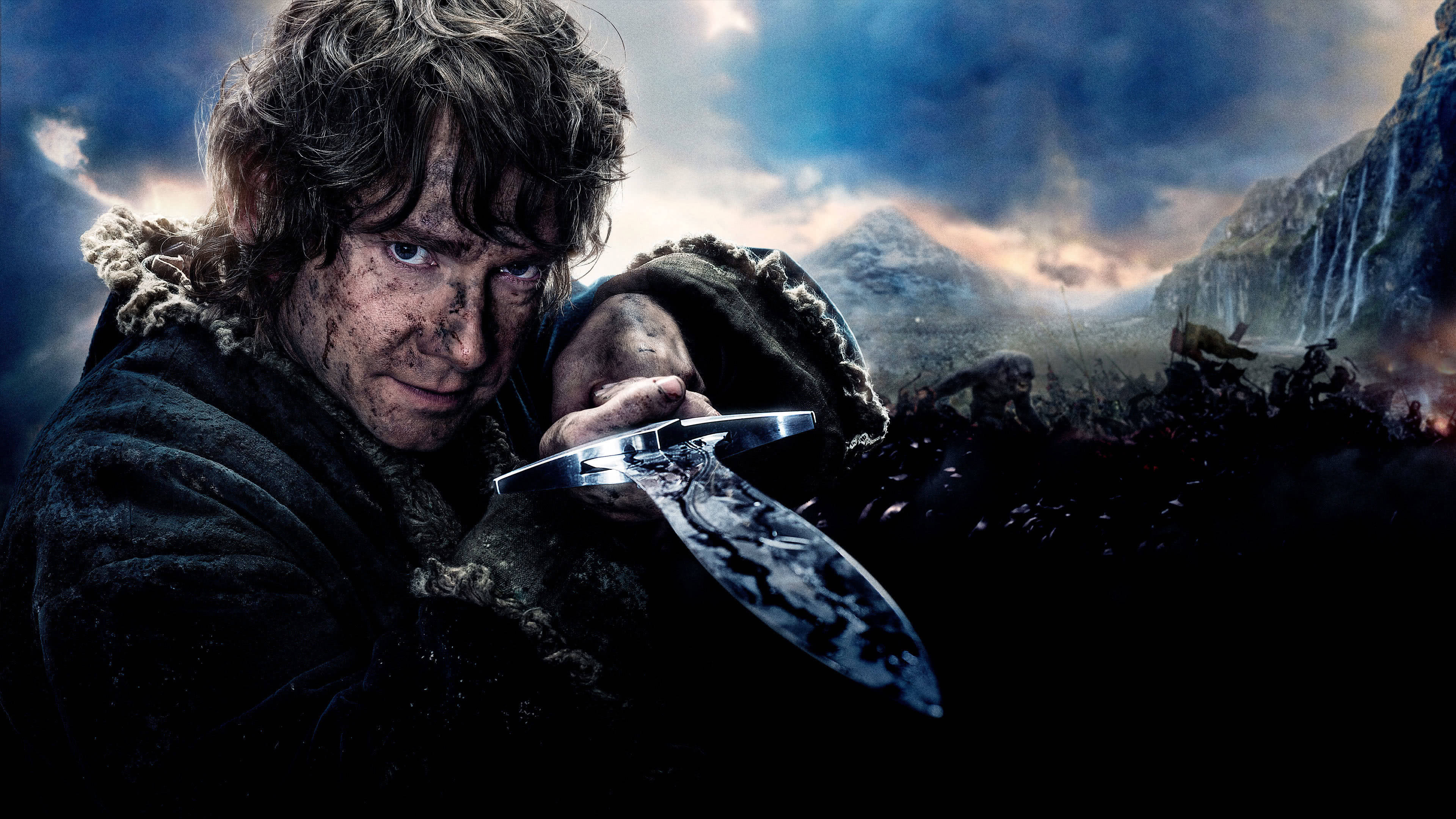 the hobbit bilbo baggins sting sword uhd 4k wallpaper