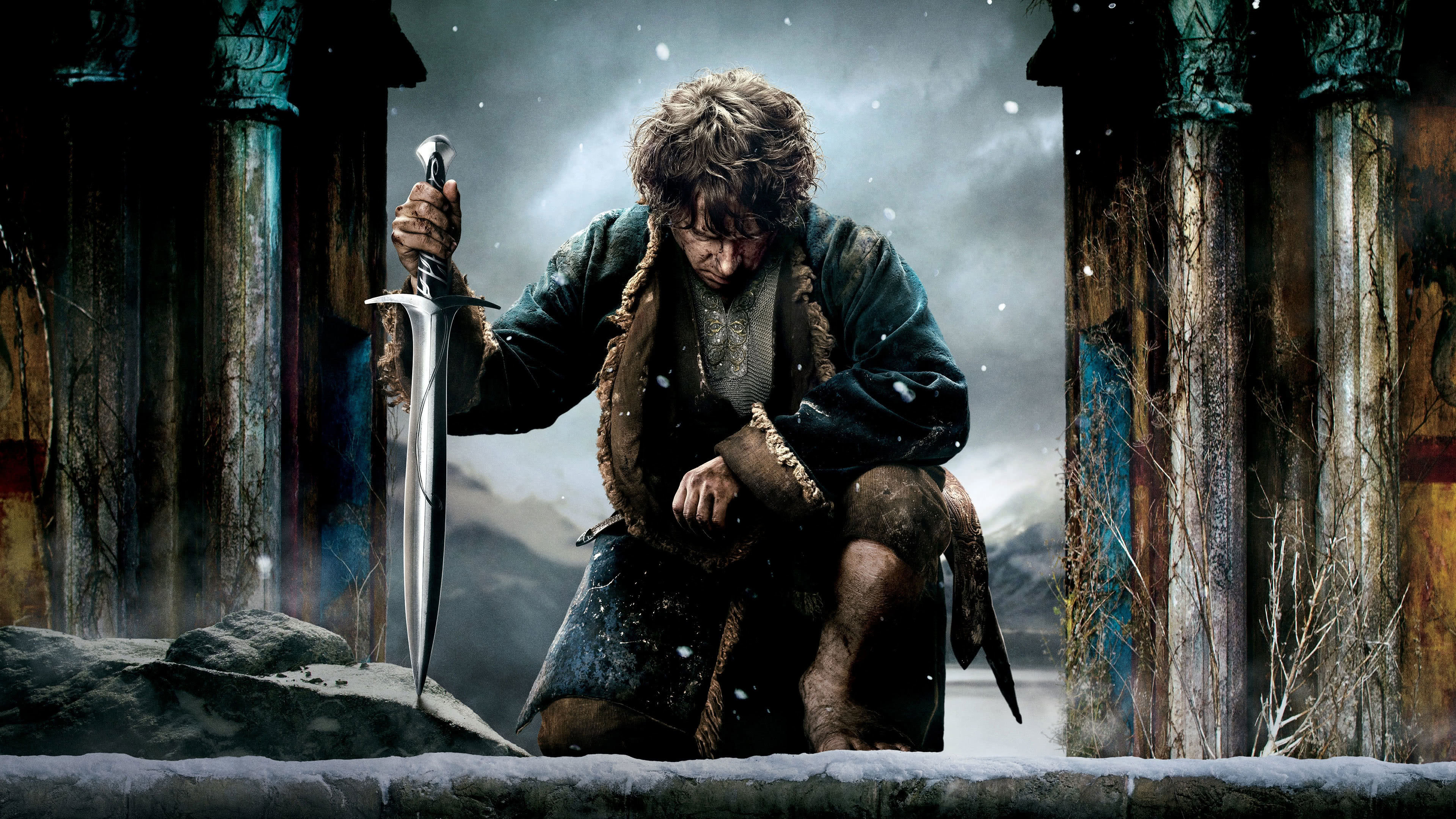 the hobbit bilbo baggins uhd 4k wallpaper