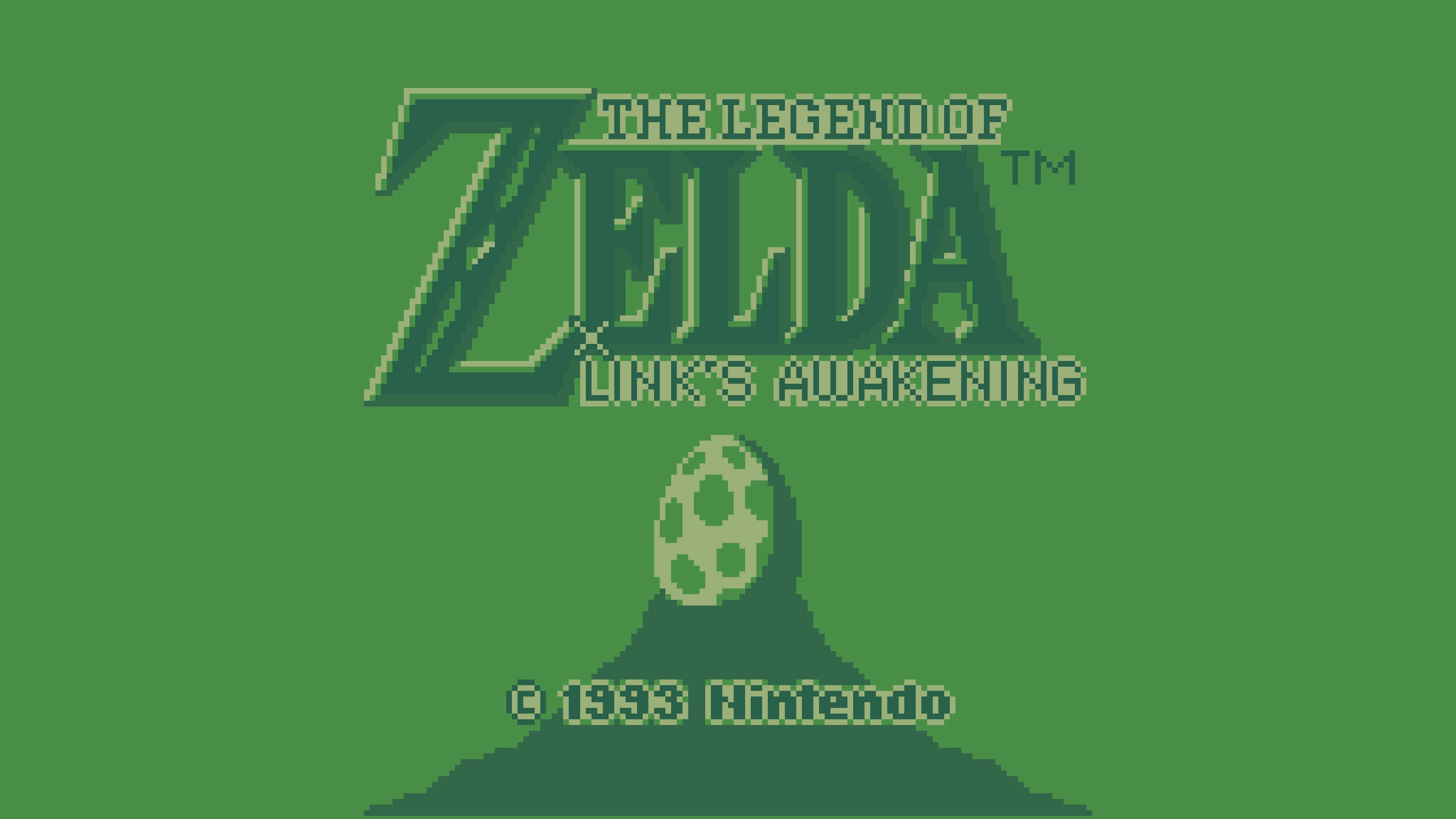The Legend Of Zelda Links Awakening Game Boy Screenshot Uhd 4k