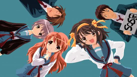 the melancholy of haruhi suzumiya uhd 4k wallpaper
