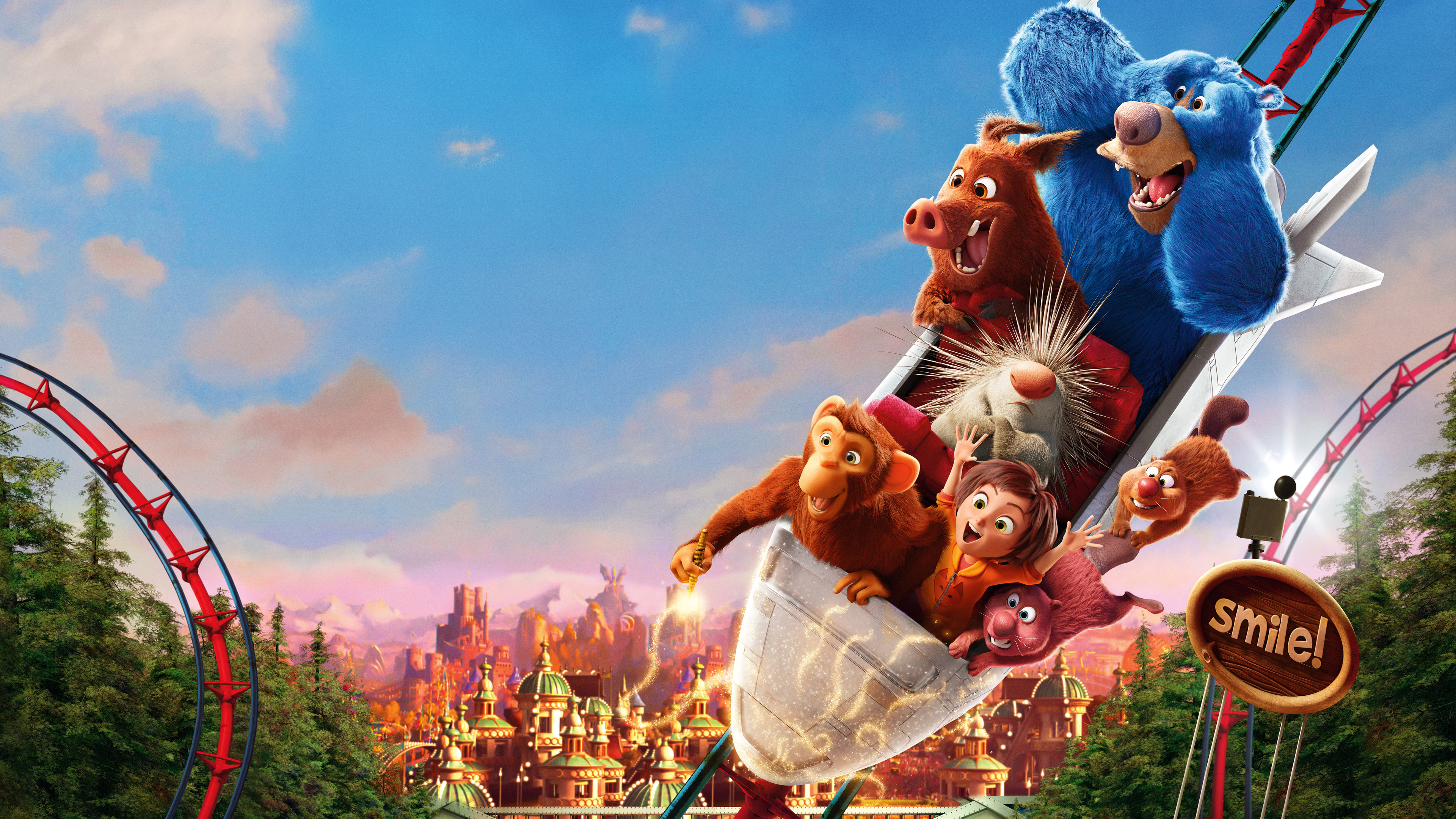 wonder park poster uhd 4k wallpaper