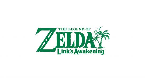 zelda links awakening switch logo uhd 4k wallpaper