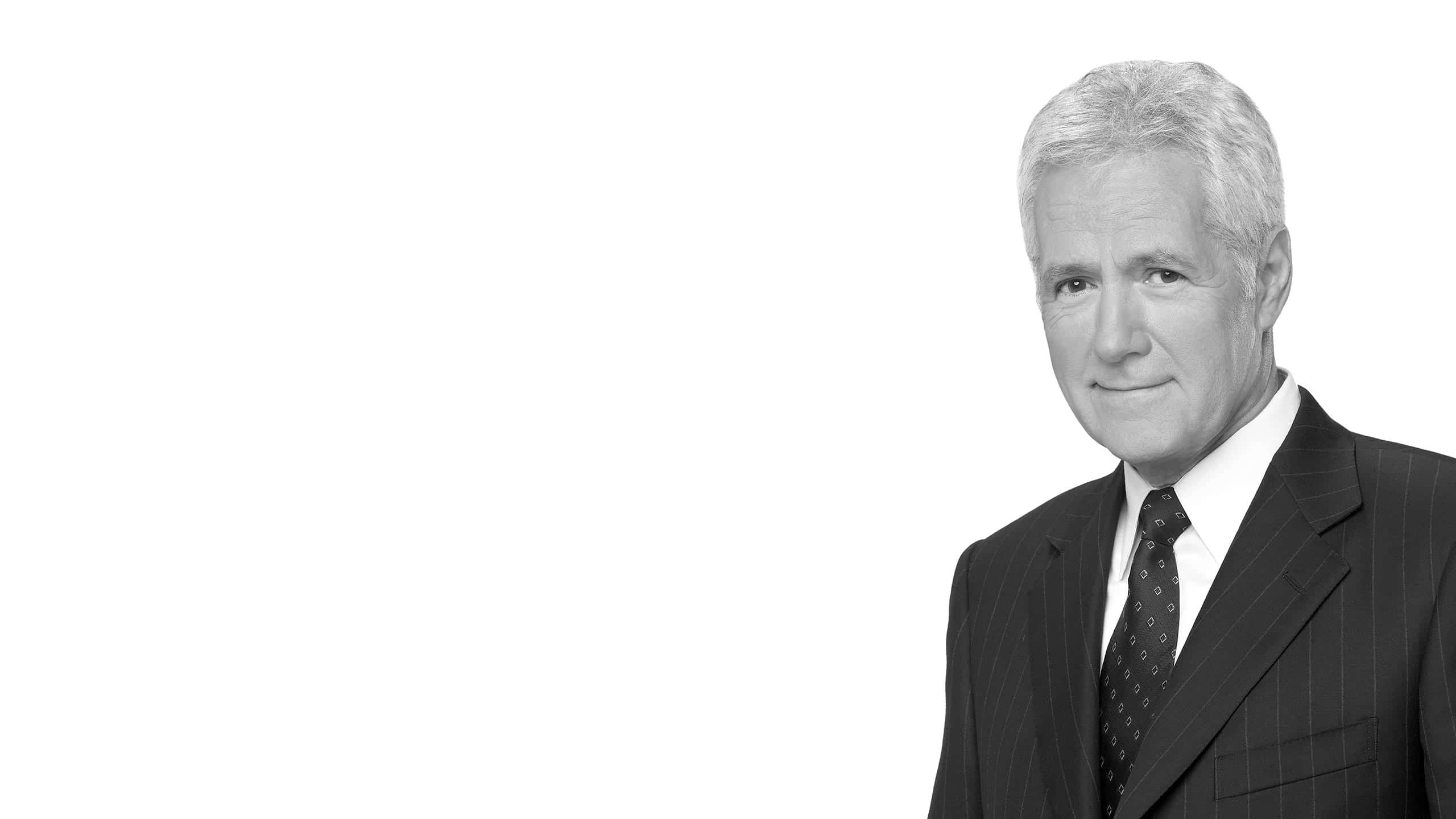 alex trebek portrait wqhd 1440p wallpaper