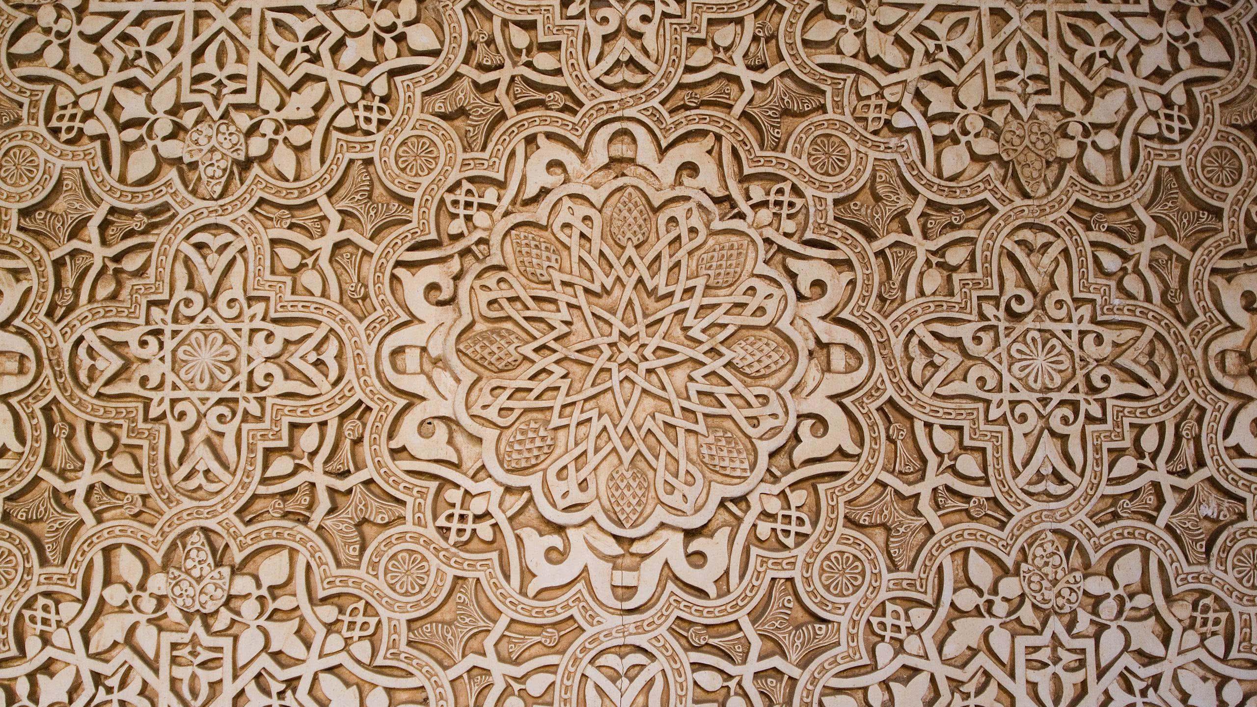 arabesque background wqhd 1440p wallpaper