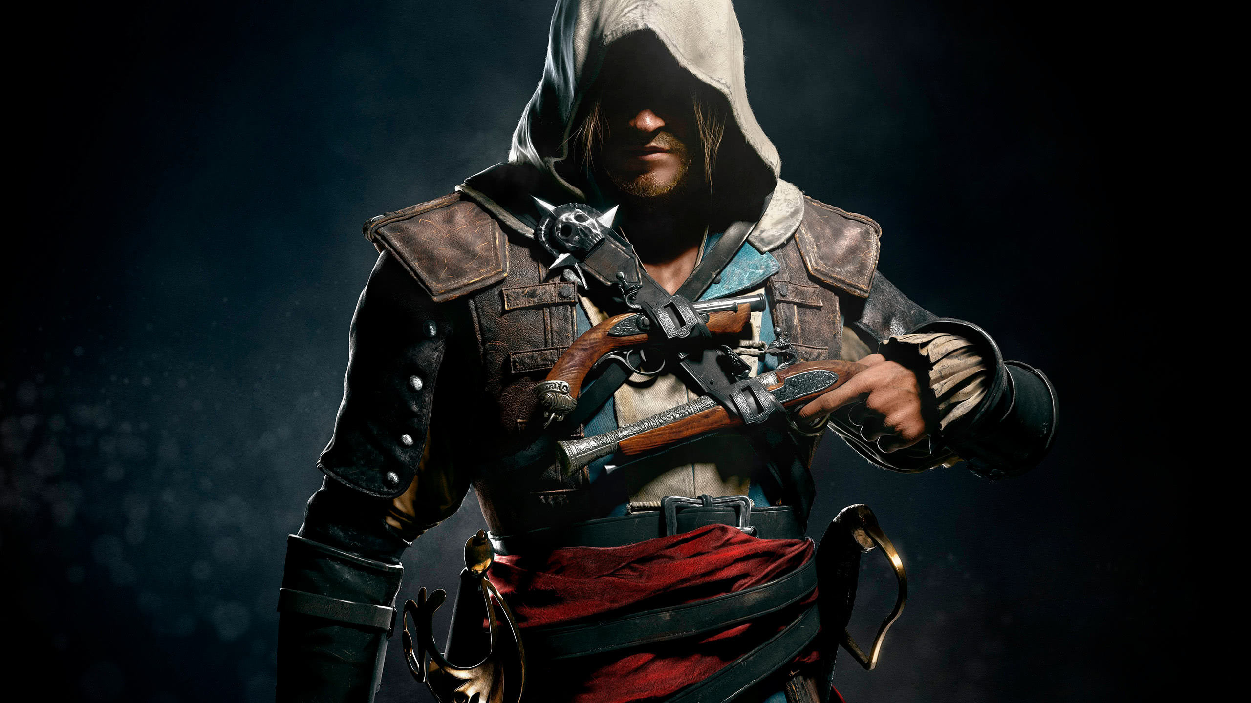 assassins creed 4 black flag edward kenway wqhd 1440p wallpaper