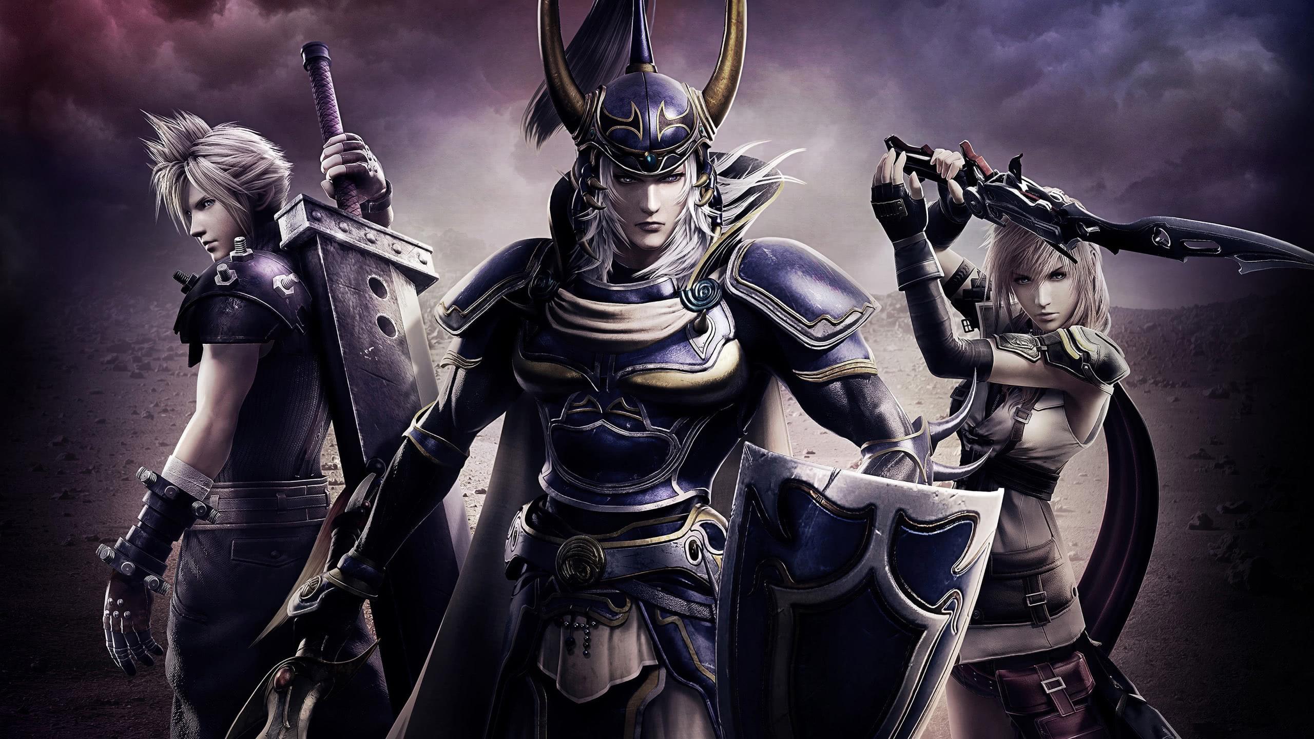 Dissidia Final Fantasy Nt Characters Wqhd 1440p Wallpaper Pixelz