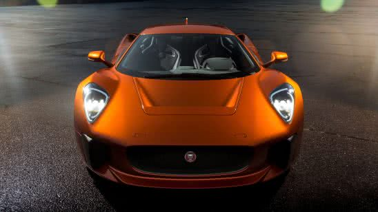 jaguar c-x75 007 james bond vilain car front wqhd 1440p wallpaper