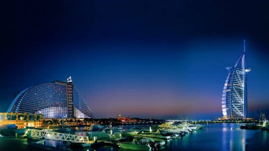 jumeirah beach hotel burj al arab dubai united arab emirates wqhd 1440p wallpaper
