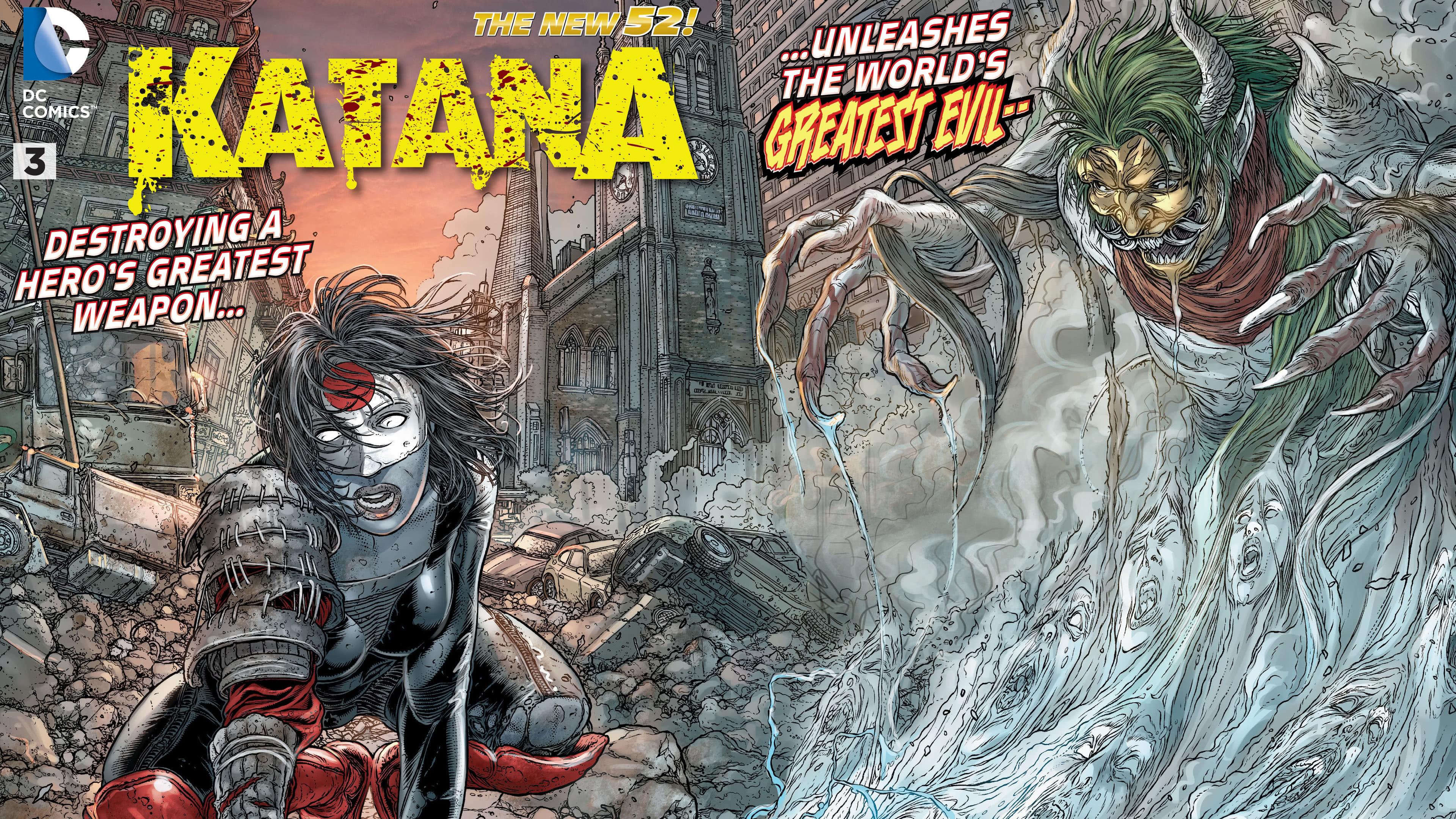 katana comics 52 uhd 4k wallpaper