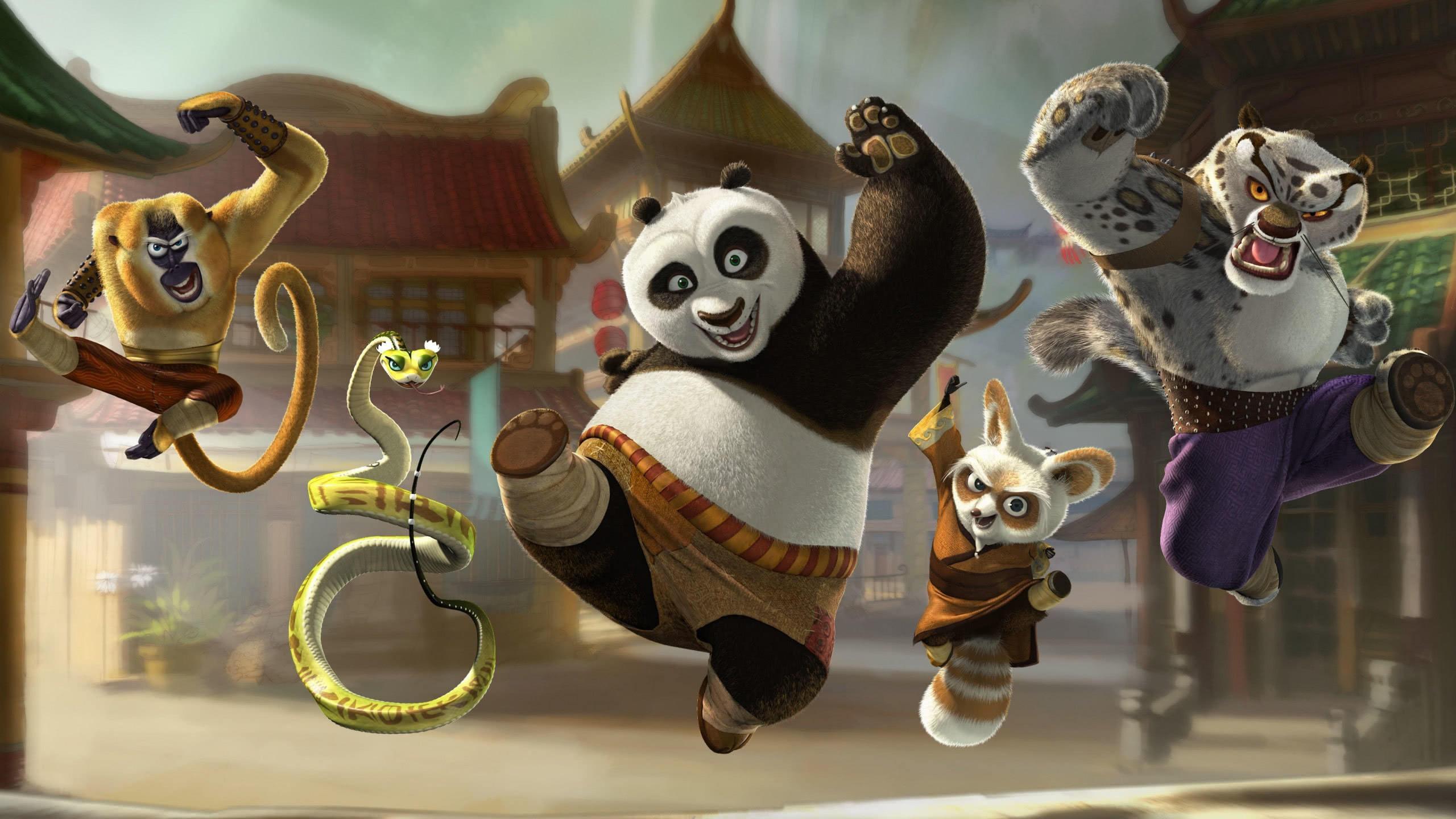 kung fu panda 2 characters wqhd 1440p wallpaper