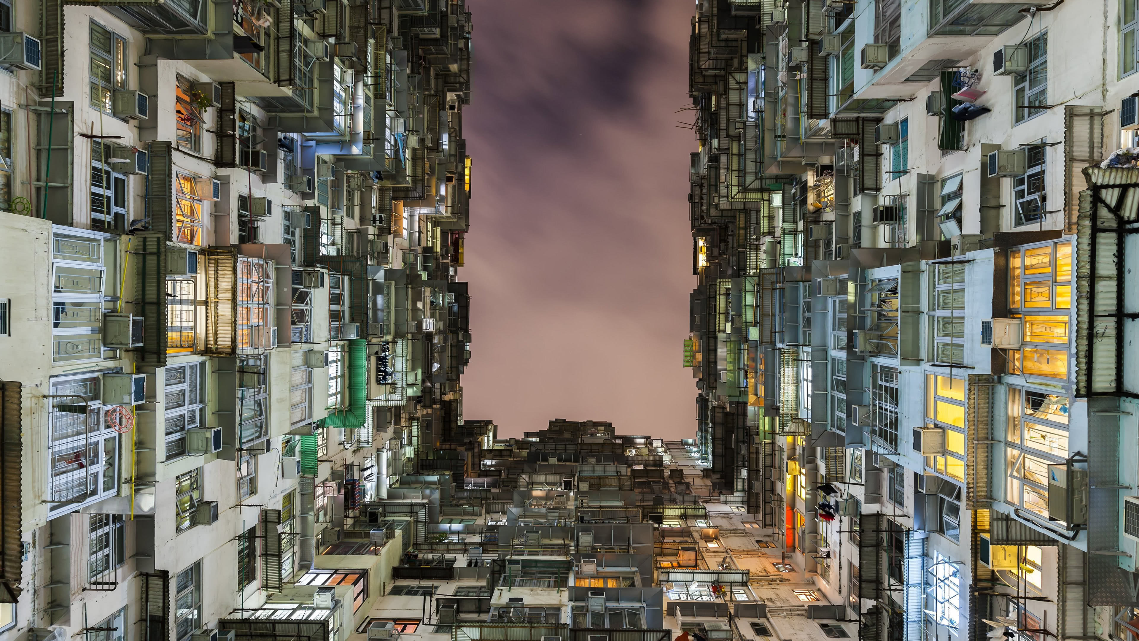 Living In A Box Condos Hong Kong China Uhd 4k Wallpaper Pixelz