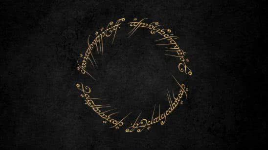 lord of the rings elvish text wqhd 1440p wallpaper