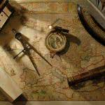 map and nautical navigation tools wqhd 1440p wallpaper