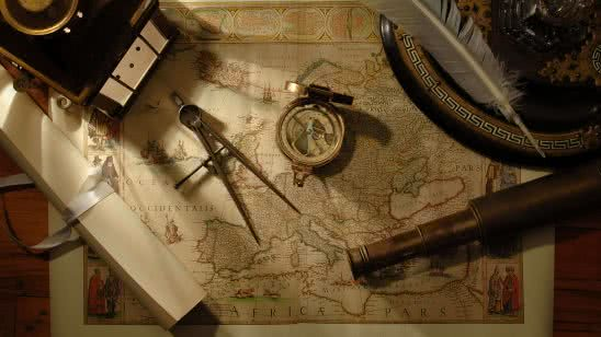 map and nautical navigation tools wqhd 1440p wallpaper