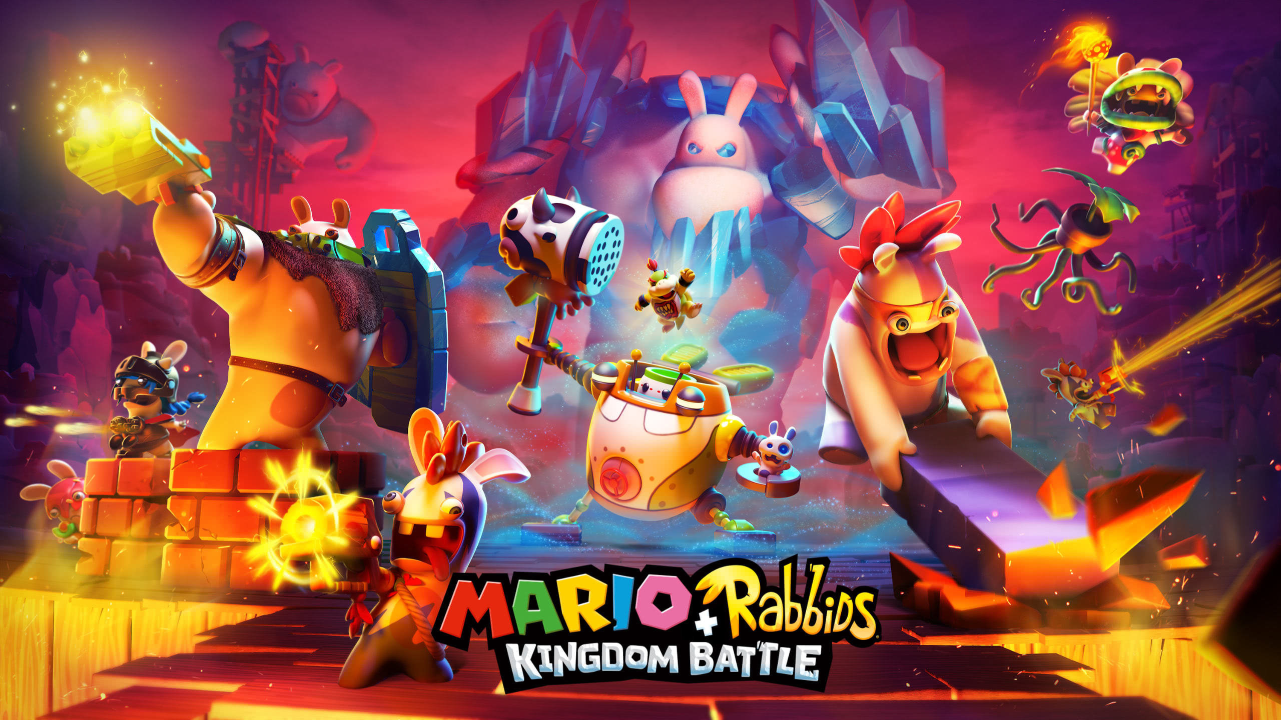 mario rabbids kingdom battle wqhd 1440p wallpaper