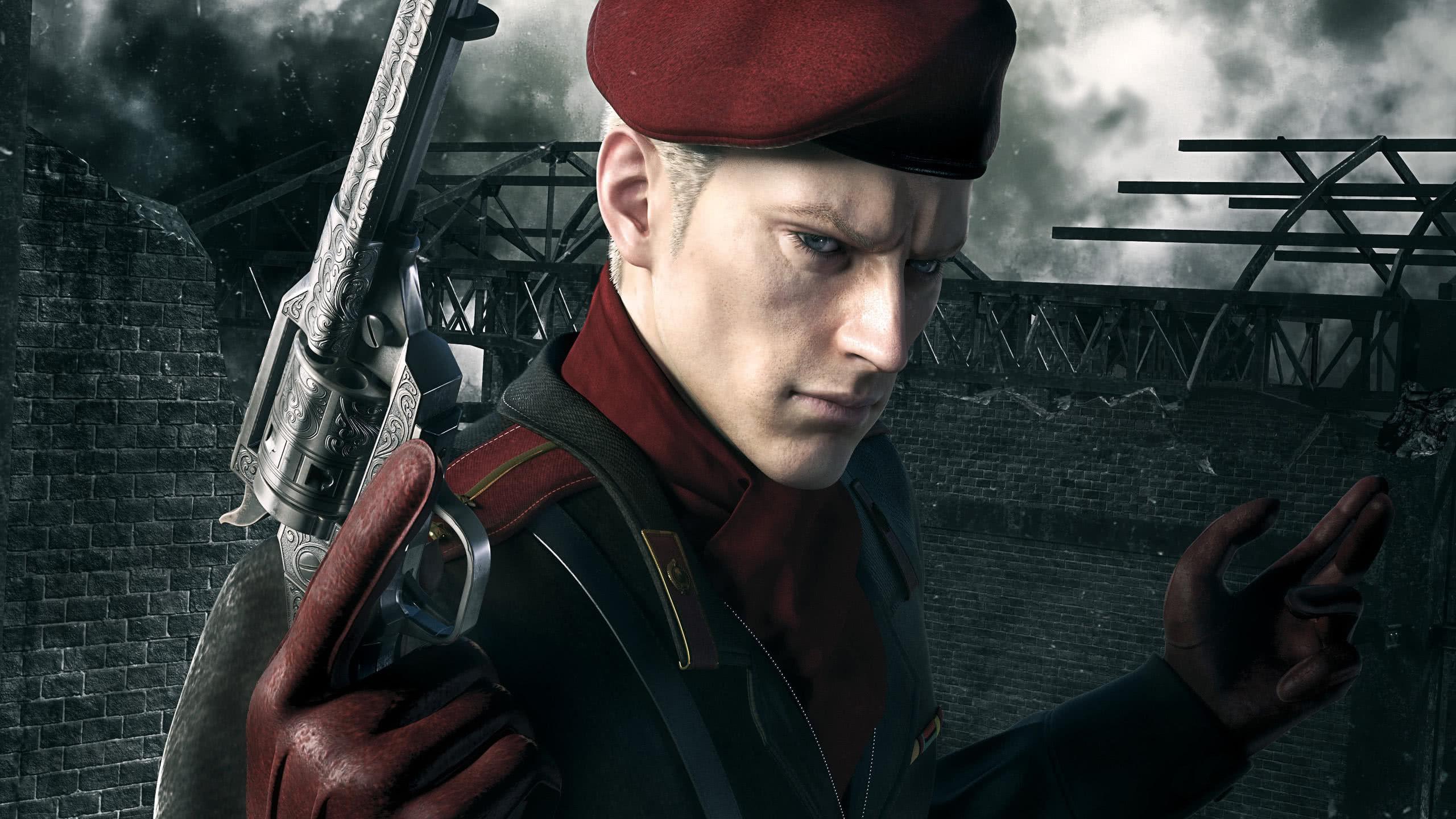 Metal Gear Solid 3 Snake Eater Revolver Ocelot Wqhd 1440p