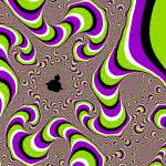Moving Optical Illusion Background