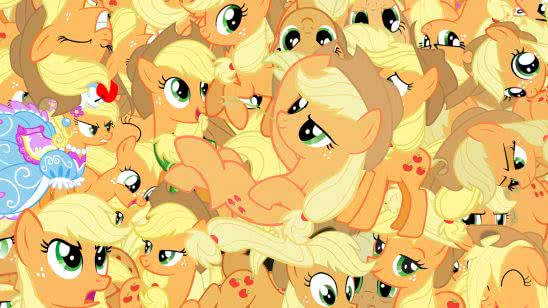 my little pony friendship is magic applejack wqhd 1440p wallpaper