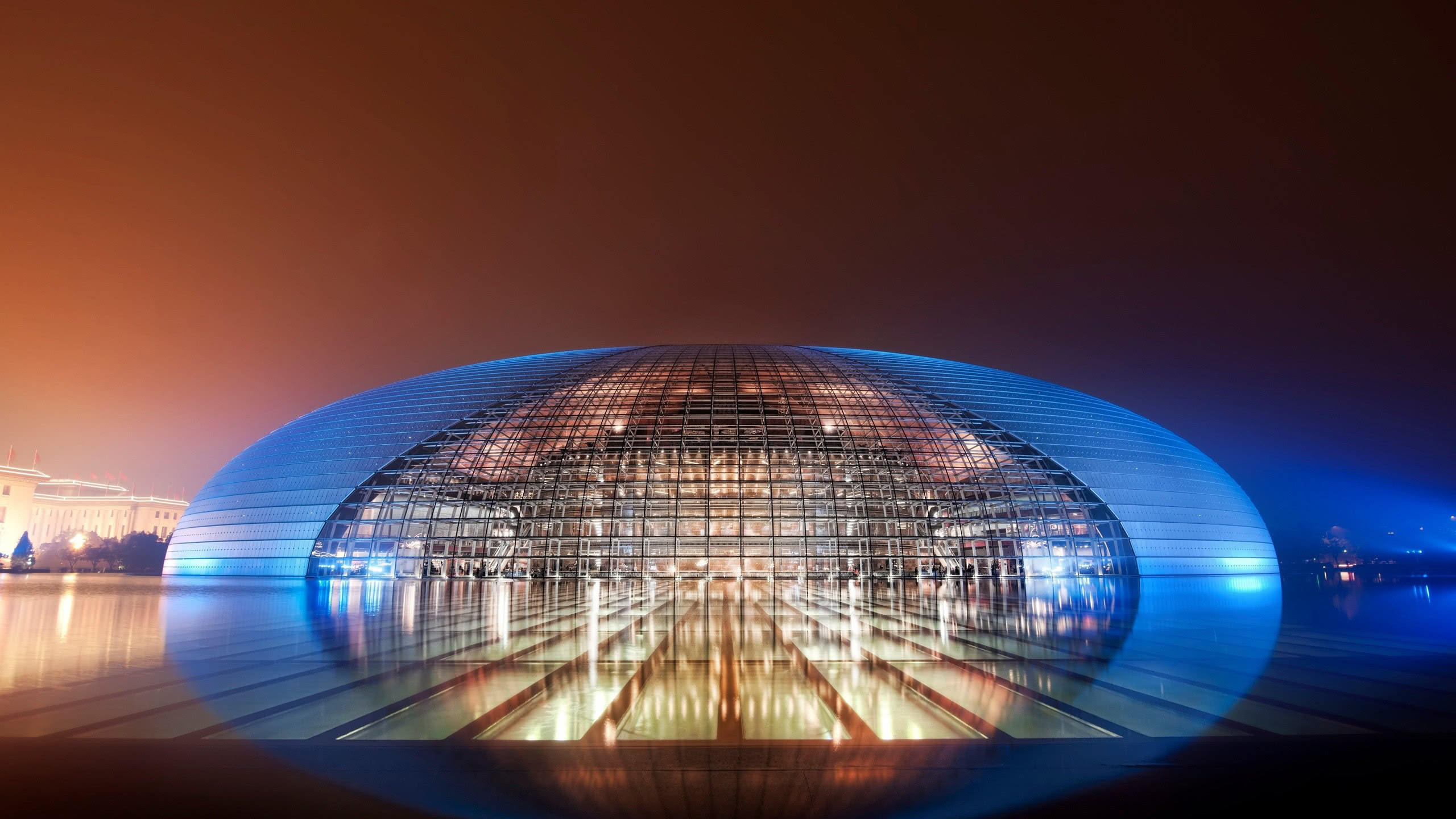 national centre for the performing arts beijing china wqhd 1440p wallpaper