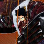 one piece burning blood monkey d luffy wqhd 1440p wallpaper