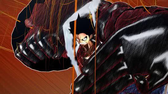 one piece burning blood monkey d luffy wqhd 1440p wallpaper