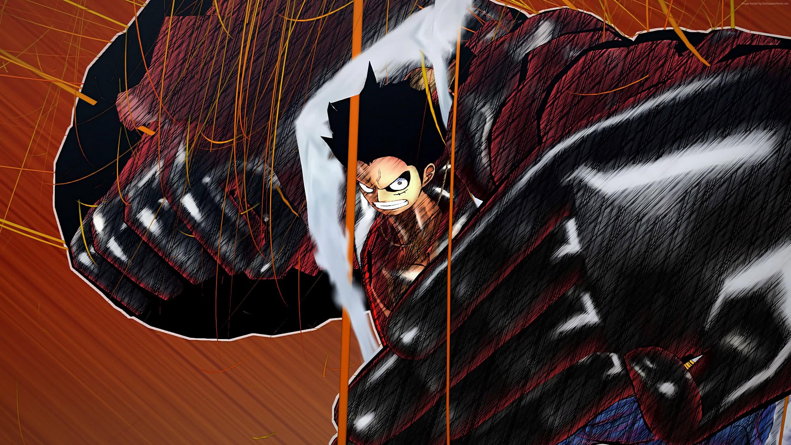One Piece Burning Blood Monkey D Luffy Wqhd 1440p Wallpaper Pixelz