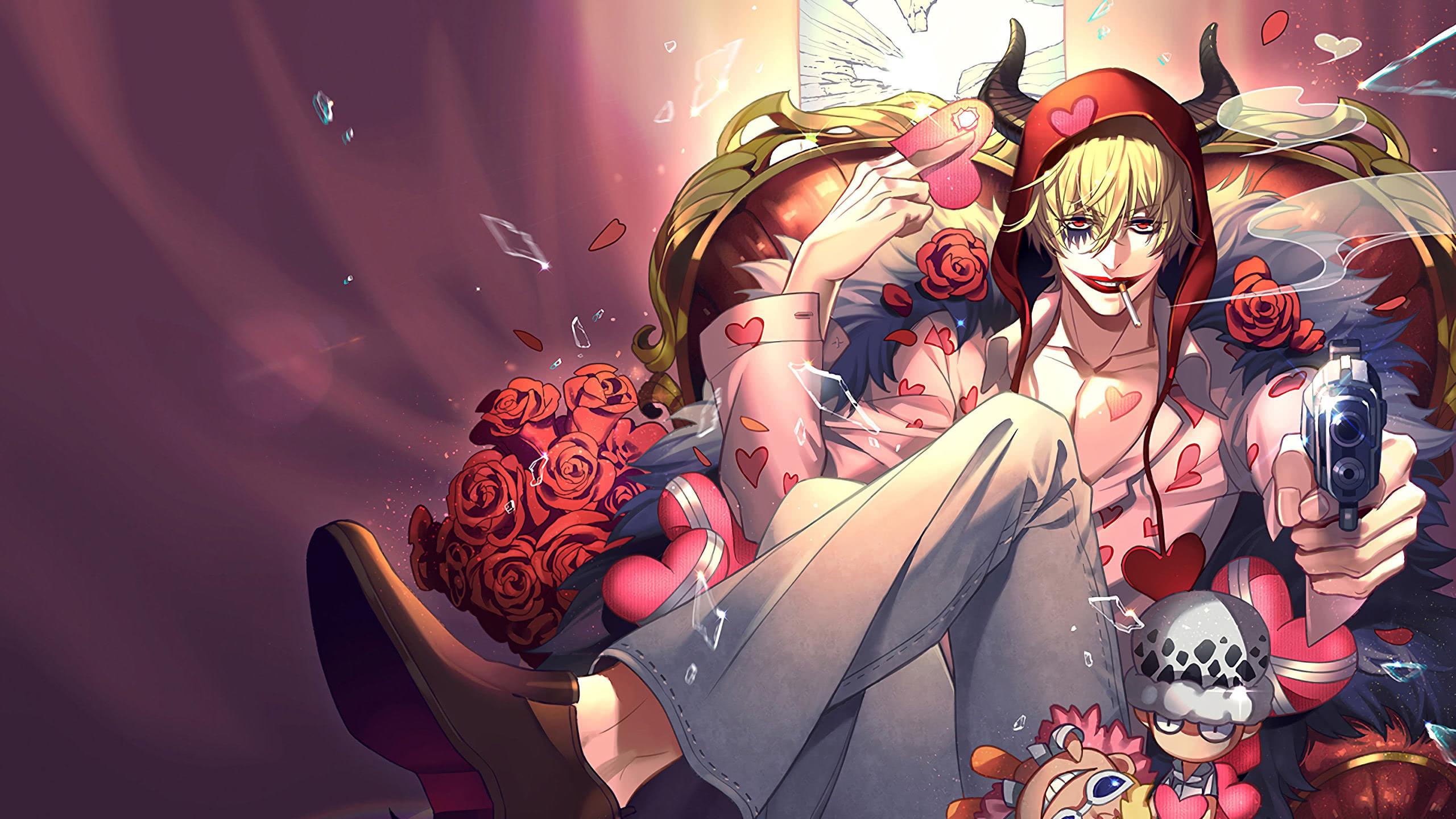 One Piece Corazon Donquixote Rosinante Wqhd 1440p Wallpaper Pixelz