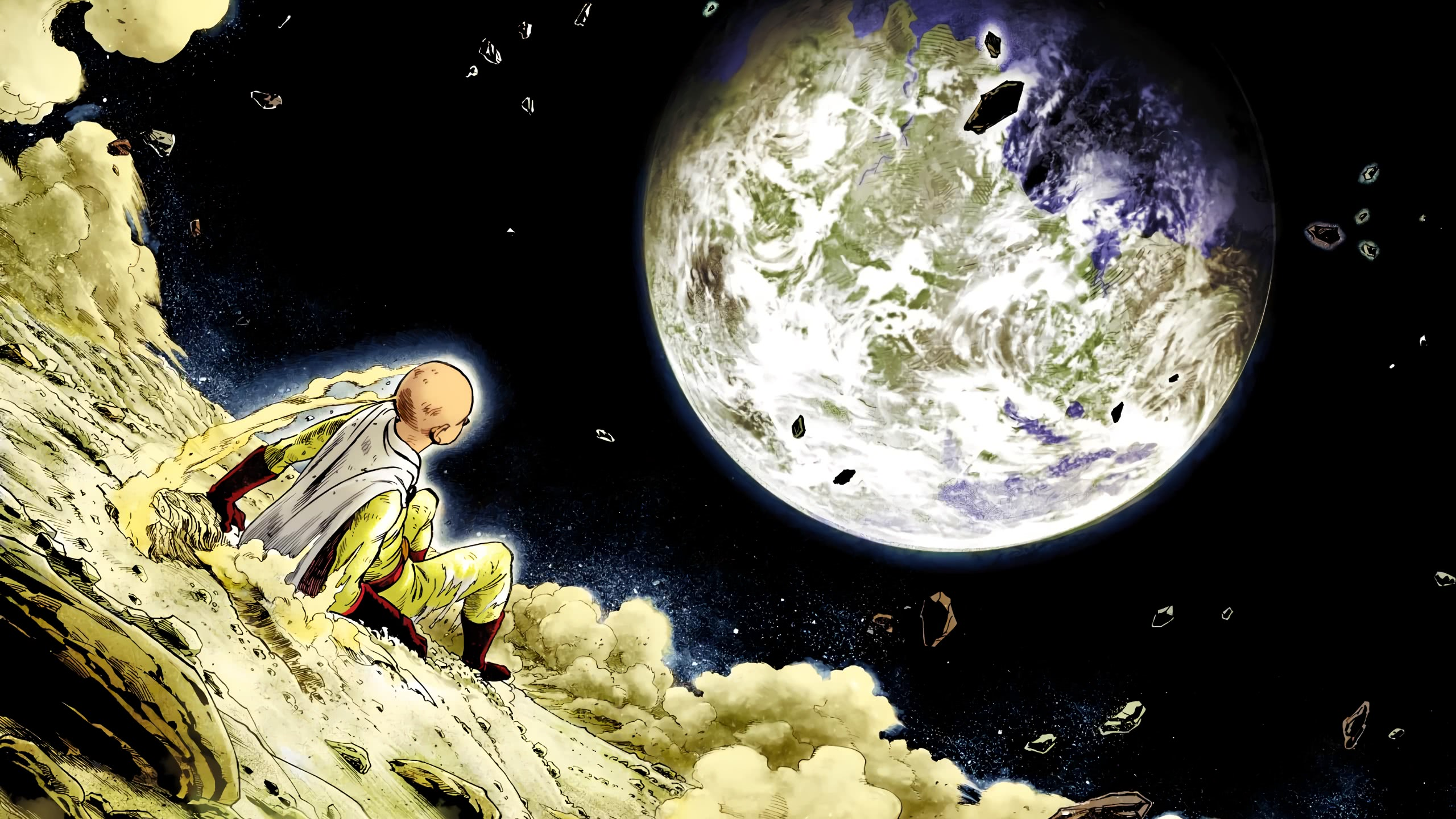 Download Saitama Moon Wallpaper Cikimm Com