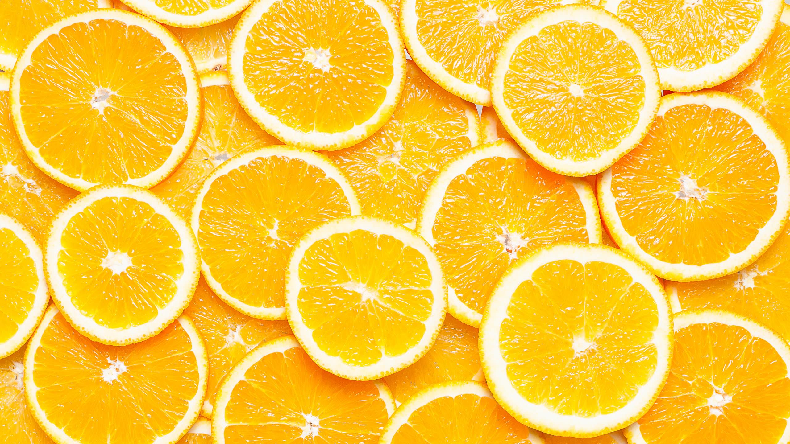orange slices wqhd 1440p wallpaper