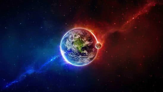planet earth fire and ice wqhd 1440p wallpaper