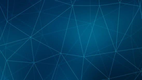 polygons network blue wqhd 1440p wallpaper