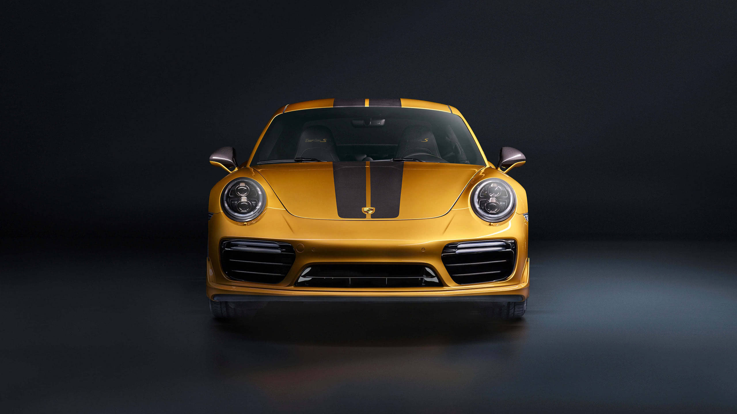 porsche 911 turbo s exclusive front wqhd 1440p wallpaper