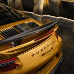 porsche 911 turbo s rear wqhd 1440p wallpaper